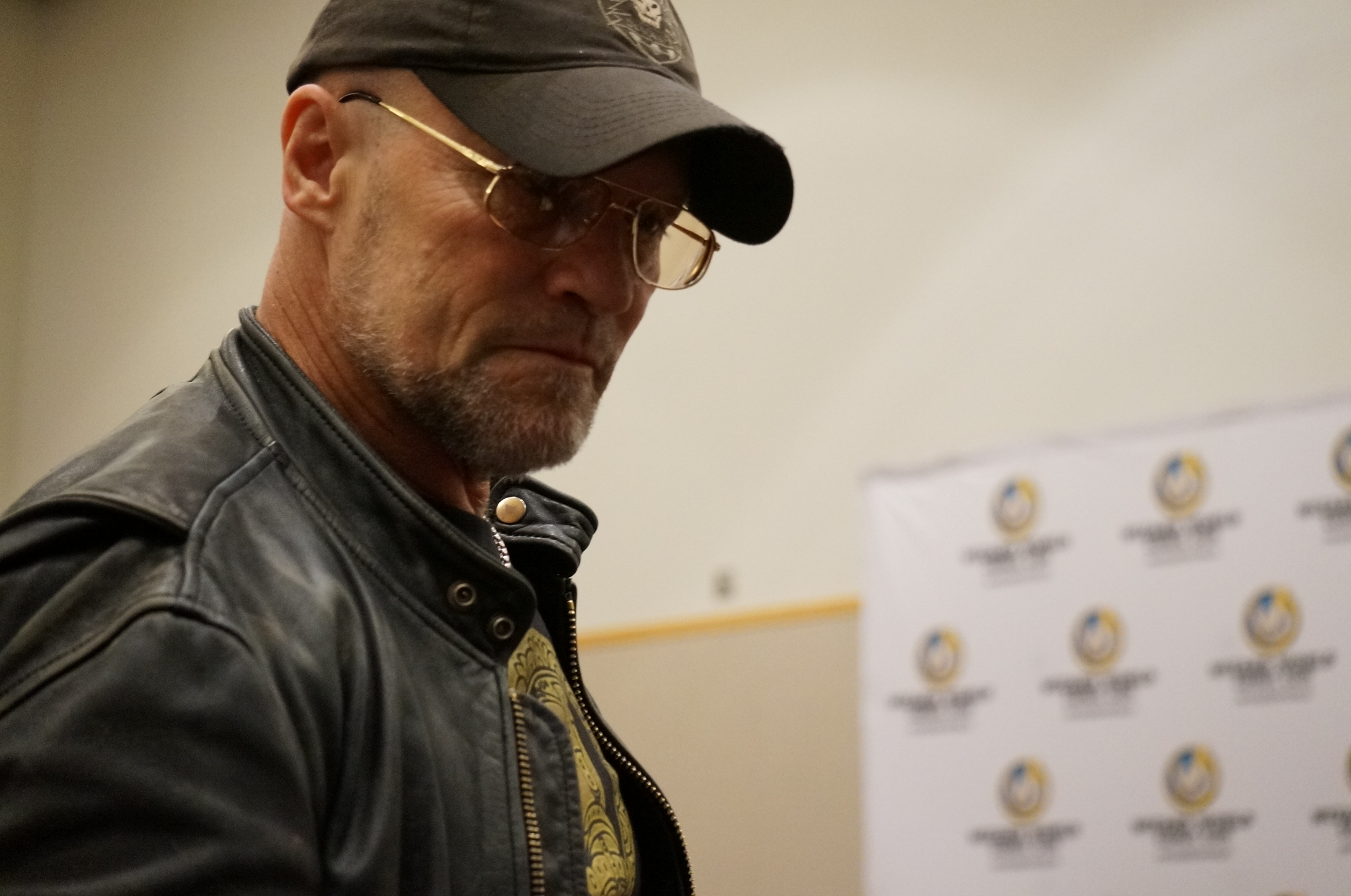 """Michael Rooker was pulling no punches during his panel """"Michael Rooker Versus The Audience."""""""