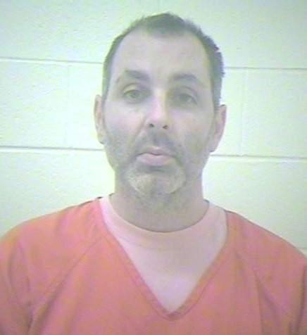Stephen Nichols shown in an undated jail booking photo.