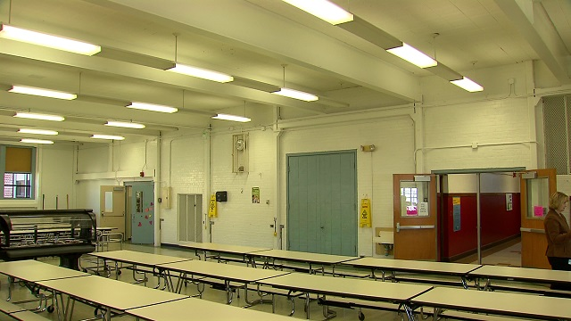 Inside James John School in Portland, March 3, 2015 (KOIN 6 News)