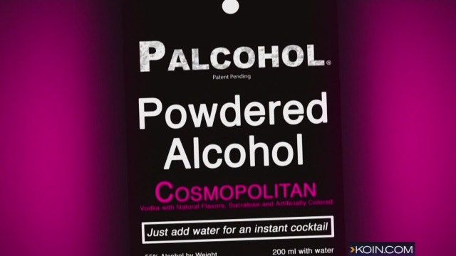 Palcohol,  a powdered alcohol drink as seen on their website, March 30, 2015
