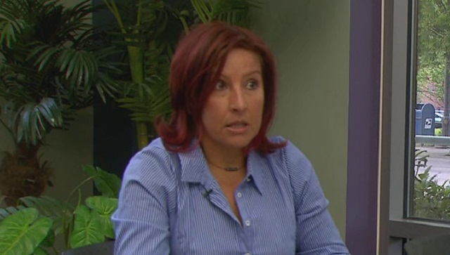 Patricia Barrera works to get women out of prostitution and sex trafficking, April 2015 (KOIN 6 News)