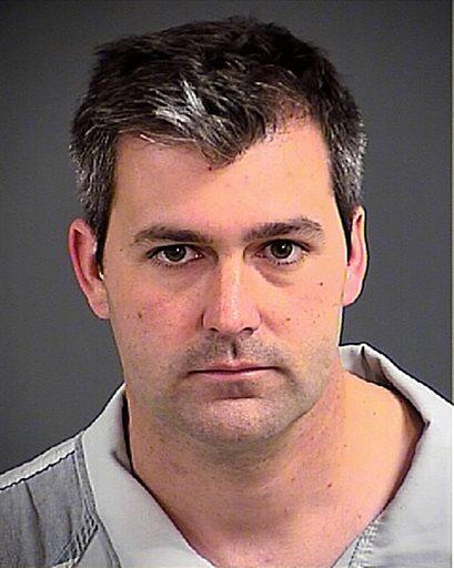 This photo shows Patrolman Michael Thomas Slager on Tuesday, April 7, 2015. (AP Photo/Charleston County Sheriff's Office)