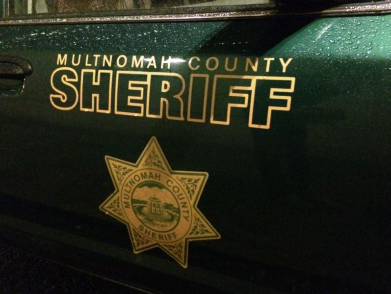 File - Multnomah County Sheriff's Office Logo on vehicle_128094