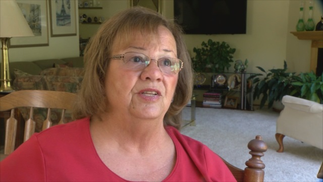 Marilyn Hedlund was aboard United Flight 1535 from Houston to Portland when a family was removed because their daughter was disruptive, May 9, 2015. (KOIN)