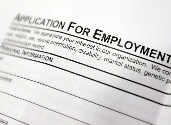 Employment application generic jobs_175284