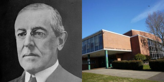 A teacher at Woodrow Wilson High School wants to change the name. (AP image_PPS)_176219