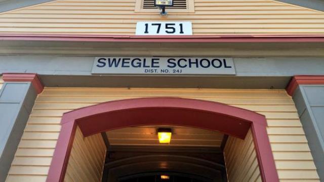 Swegle Elementary School in the Salem-Keizer district, July 8, 2015 (KOIN)