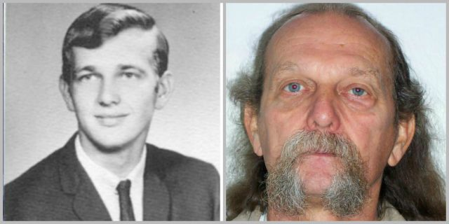 Warren Forrest in side-by-side photos from the 1960s and his most recent prison photo from 2013 (KOIN 6 News file)