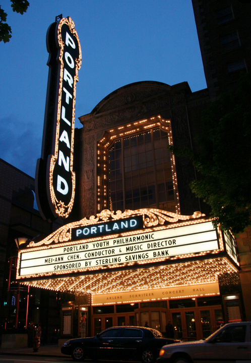 The Arlene Schnitzer Concert Hall in downtown Portland. (Portland's Center for the Arts)