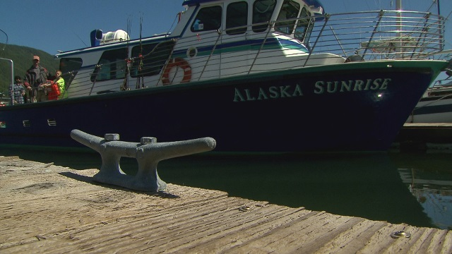 The charter boat Alaska Sunrise along the Oregon coast, July 2015 (KOIN)
