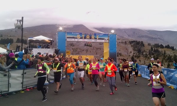 Hood to Coast start line, August 28 2015. (KOIN)_197757