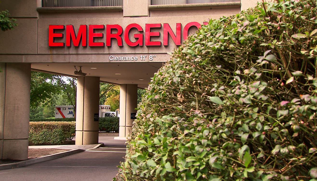 Providence St. Vincent Medical Center in Portland, Septmebeer 2015 (KOIN)