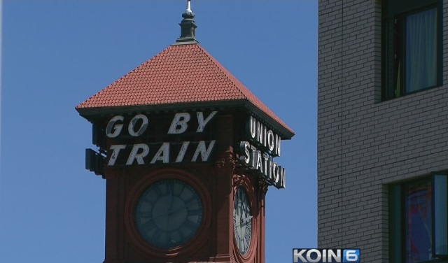 Union Station in Portland, August 4, 2015 (KOIN)
