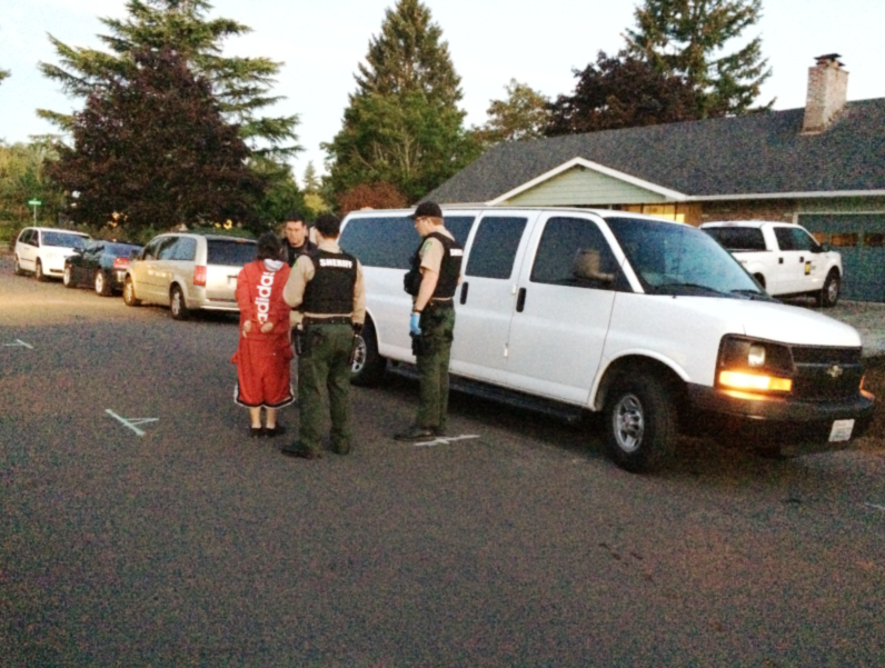 One person was detained and then later released after a search warrant in Vancouver, Wash. (KOIN)