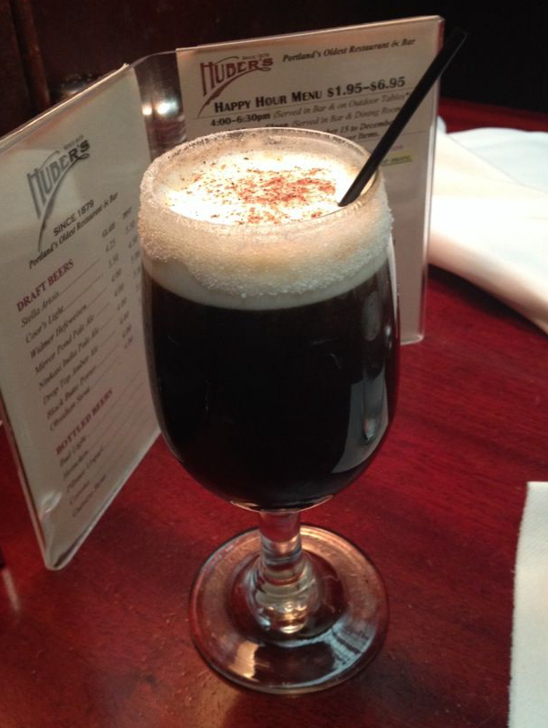 Huber's sells approximately 5,000 Spanish Coffees a month and 60,000 a year. (Huber's Cafe)