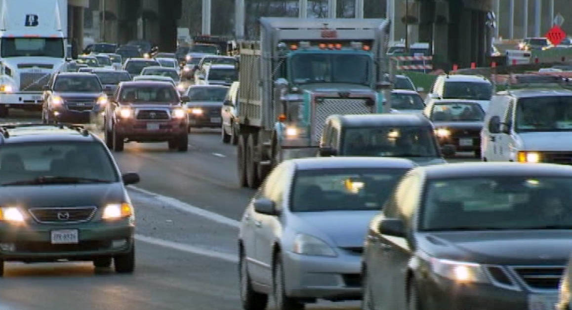 I-5 north of Vancouver, I-5 around Wilsonville and I-26 around Beaverton are some of the most congested areas. (KOIN)