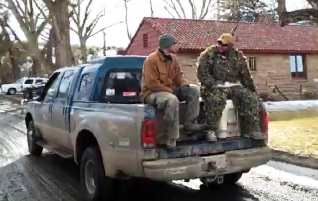 More militiamen arrived at the Malheur National Wildlife Refuge Wednesday, January 20, 2016. (KOIN)