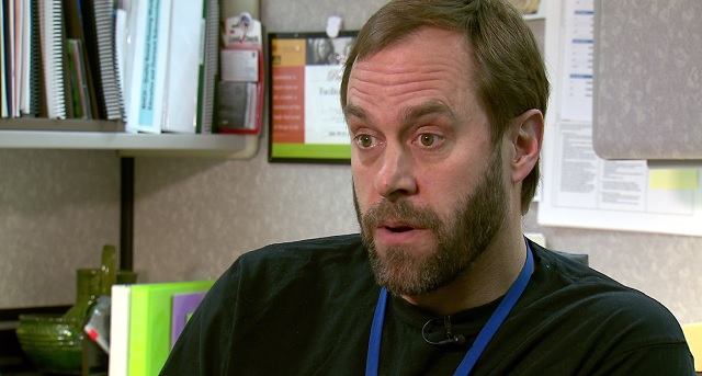 Perry Cabot, a lead specialist with Multnomah County, Jan. 7, 2016 (KOIN)