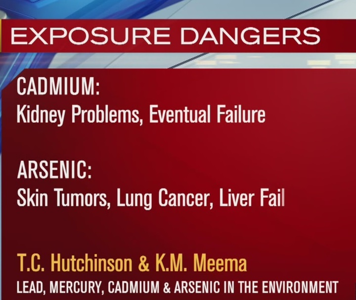 Multiple state agencies are investigating possible health risks related to high levels of cadmium and arsenic in the air. (KOIN)