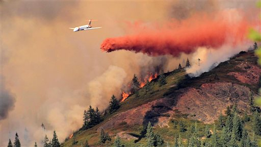 Oregon Wildfires onion mountain 09142014 ap_91049