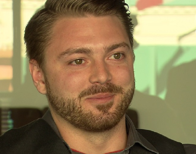This is an image of Jordan Bryant, Director of Mobile Strategy at Emerge Interactive