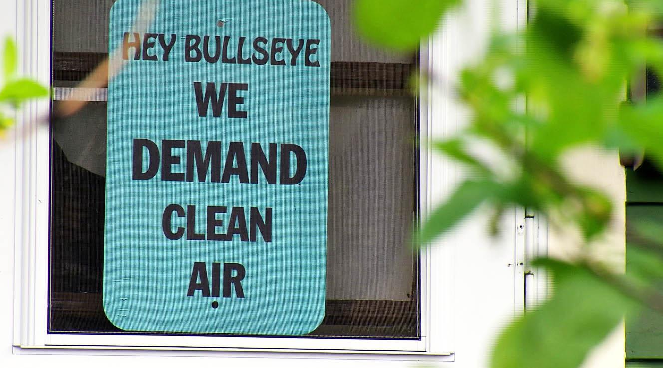 demand clean air sign_286711