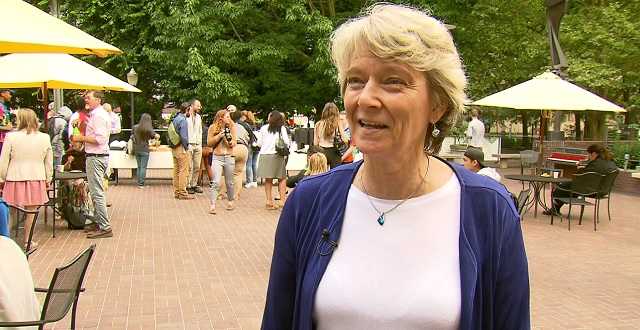 Worksystems Youth Manager Barbara Timper, July 1, 2016 (KOIN)