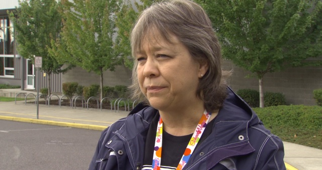 Nina Fekaris, a school nurse in the Beaverton School District and the president-elect for the National Association of School Nurses, September 7, 2016 (KOIN)
