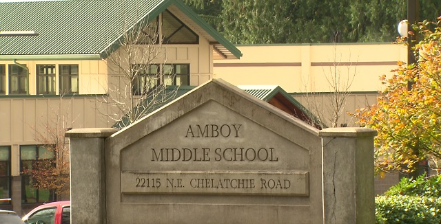 Amboy Middle School in Amboy, Washington, October 17, 2016 (KOIN)