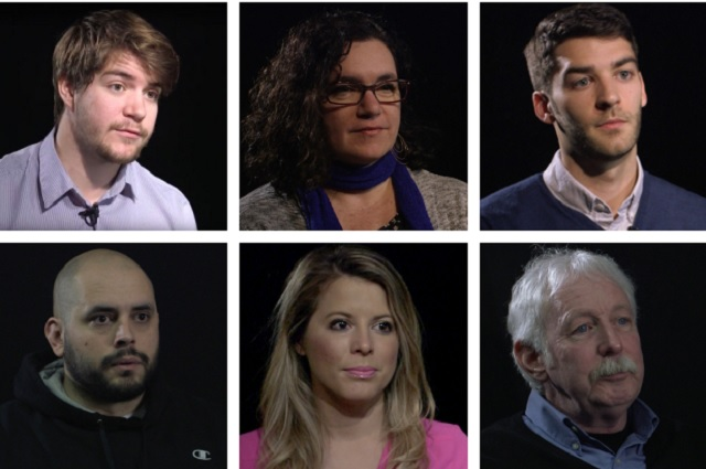 (L-R, Top to Bottom) Jonathan Bach, the Daily Beast; Rachael McDonald, KLCC; Andrew Greif, The Oregonian; John Sepulvado, OPB and CNN; Chelsea Gorrow, the Register-Guard; Tim Steele, KOIN were among the 19 journalists interviewed for the...