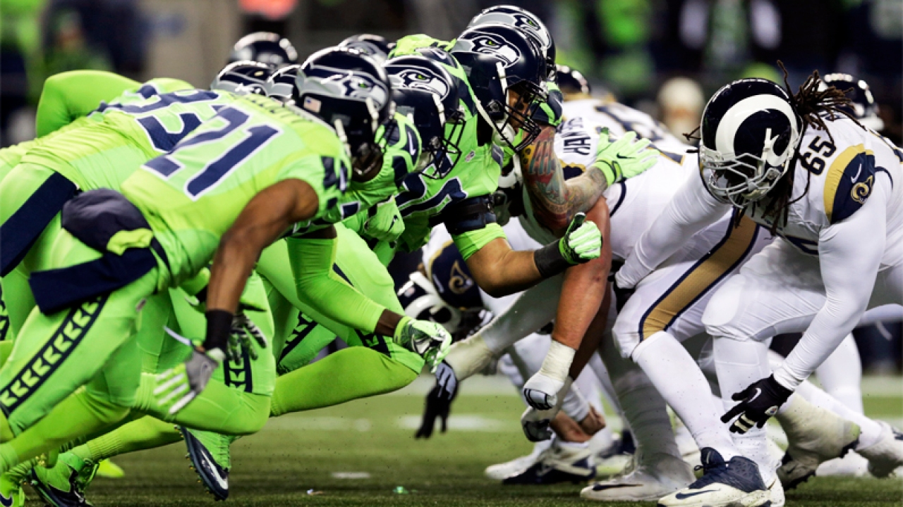 Seahawks Take Nfc West Title With Win Over Rams