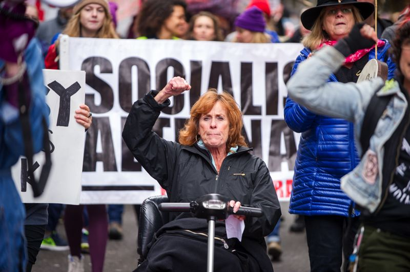 Portland women march against hate_393758