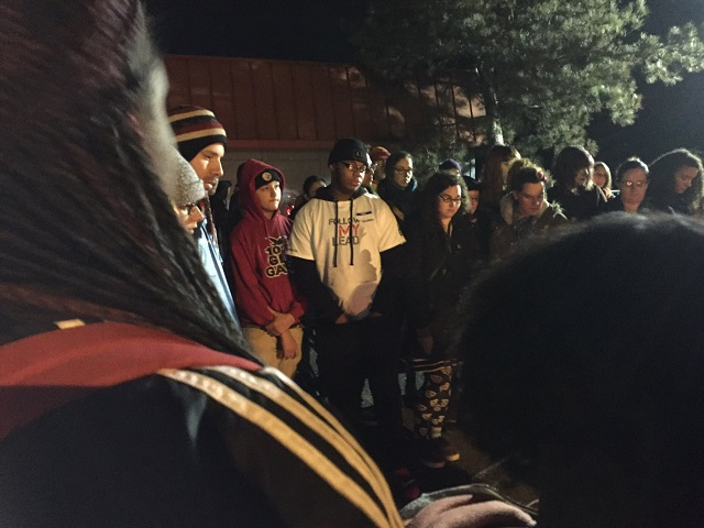 Loved ones gathered Saturday night to honor the life of 17-year-old Quanice Hayes, who was killed in a confrontation with Portland Police on February 9. (KOIN)