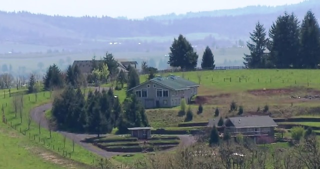 The Maysara Winery south of McMinnville, April 21, 2017 (KOIN)