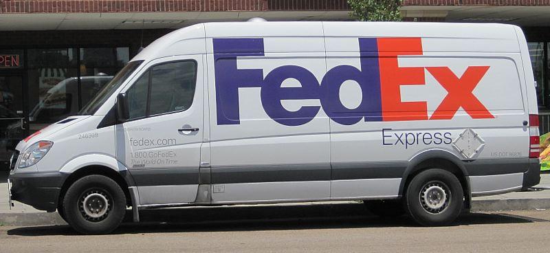 PHOTO COURTESY_ WIKIMEDIA COMMONS_THOMAS R. MACHNITZKI - This FedEx Mercedes Sprinter van is similar to the one that Jason Fletcher was driving_485139