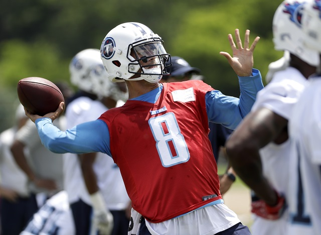 14cbcc6c Stop asking: Former Duck Mariota is healthy at camp