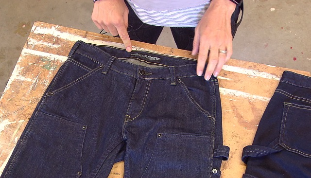 Moxie and Moss Workwear is a brand of durable work jeans founded by women for women who work in manual labor. (KOIN)