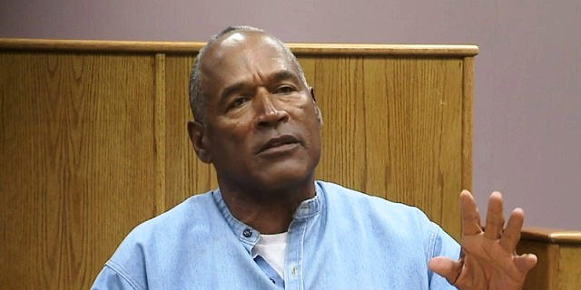 OJ Simpson at a parole hearing in Nevada, July 20, 2017 (CBSN)