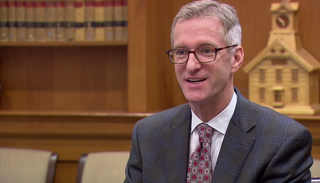 Portland Mayor Ted Wheeler, May 1, 2017 (KOIN)