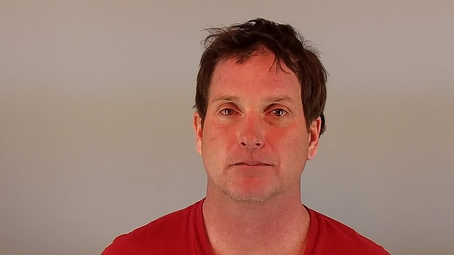 Andrew Oshea in a 2017 mug shot from Deschutes County