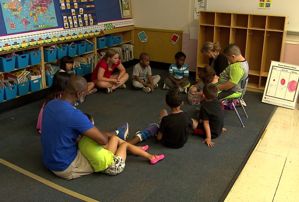 Portland kindergartners get a head start with Early Kindergarten Transition program in the summer. (KOIN)