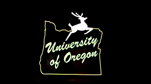 A 2008 rendering of changes considered to Portland's White Stag sign. (File)