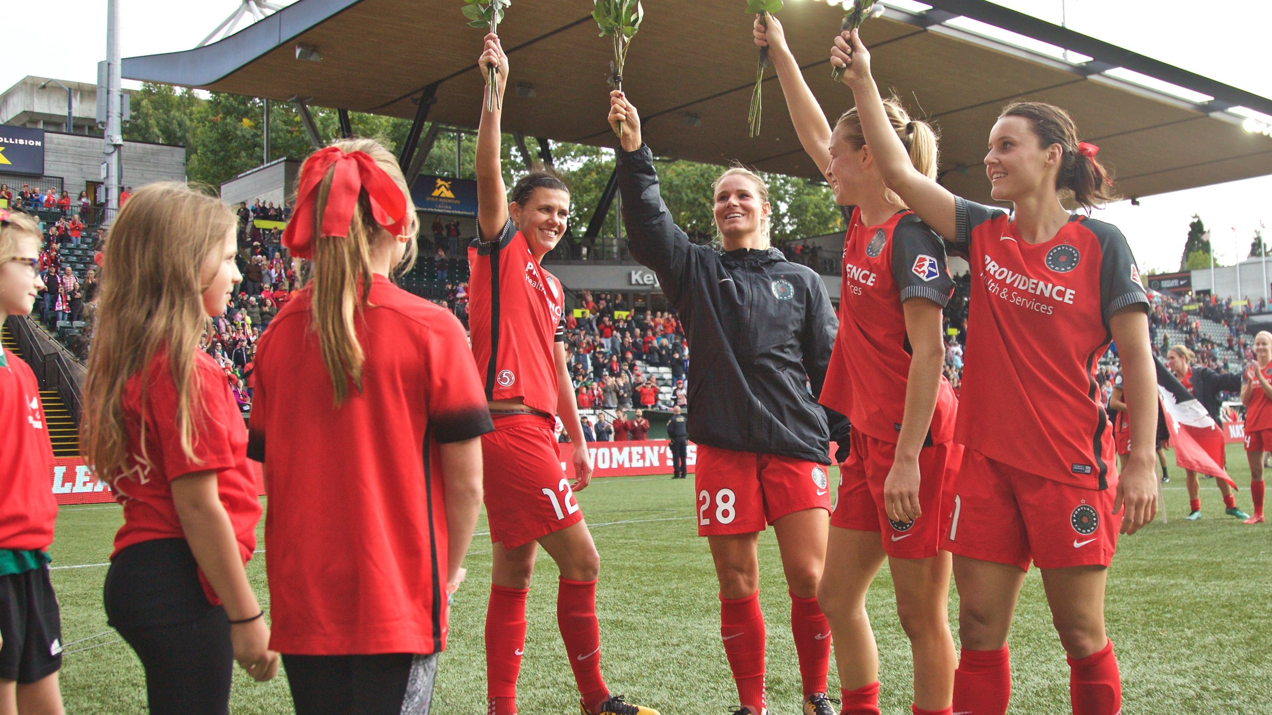 Girls of the Game, Christine Sinclair, Amandine Henry, Emily Sonnett, Hayley Raso_530866
