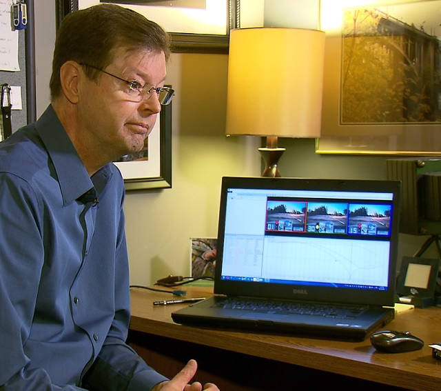 Mats Jarlstrom has been researching red light cameras in Beaverton for years. (KOIN)