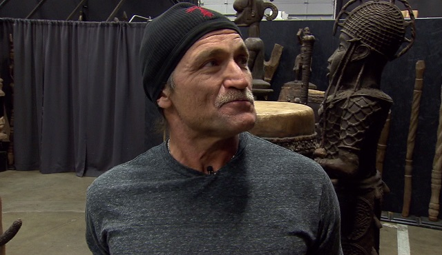 Dave Dahl, the founder of Dave's Killer Bread, has one of the largest African Art collections on the West Coast, December 4, 2017 (KOIN)