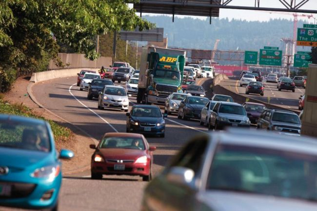 A recent ODOT report attributed hours of delays to I-5 bottlenecks, but critics say new lanes draw new traffic. (Portland Tribune)