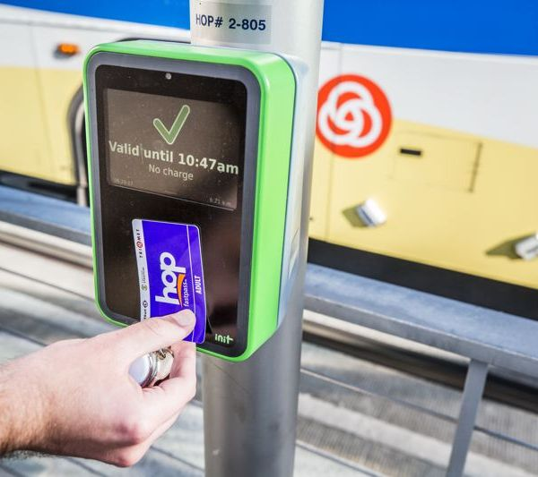 Following a long period of beta testing, TriMet finally rolled out Hop Fastpass this month, eliminating the need for paper tickets._487395