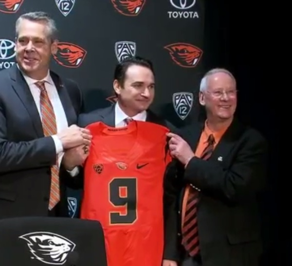 Jonathan Smith named Oregon State head coach. (KOIN)_559959