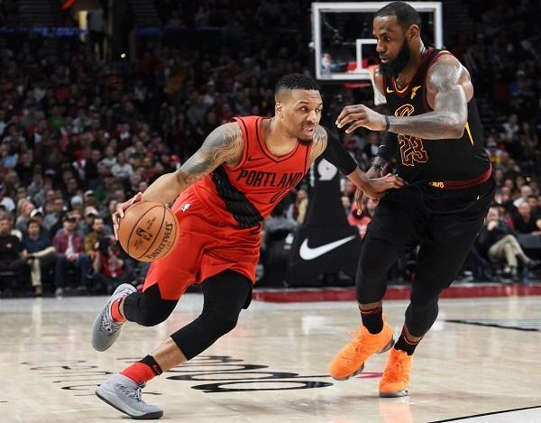 Cavaliers Trail Blazers Basketball_1521175828879