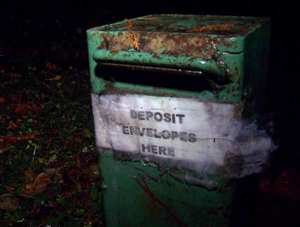 US forest service collection boxes